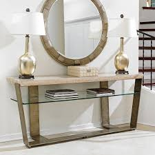 architectural furniture design. Limited Production Design \u0026 Stock: Architectural Framed Travertine Console Table * Hand Forged Worked Metal Base Burnished Silver Leaf Finish Glass Furniture O