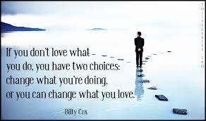 Love Choices Quotes Gorgeous If You Don't Love What You Do You Have Two Choices Popular