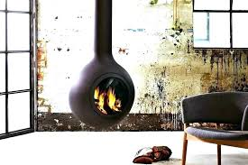 hanging wood burning stove wall mounted pellet hung burner the ceiling