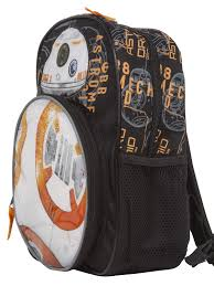 Bb8 Light Up Backpack Star Wars Bb 8 12 Inch Novelty Mini Backpack