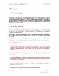 Software Design Document Sample Doc 40 Simple Business Requirements Document Templates