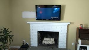 medium size of fireplace hide cables wall mount tv fireplace images of tv mounted over