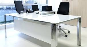contemporary office desk glass. Brilliant Glass Modern Office Desk Glass White High Gloss Inside Contemporary C