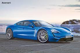 Porsche Mission E - Front (watermarked)