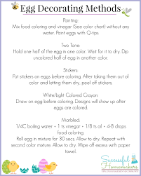 Food Coloring Chart Eggs Fresh Egg Decorating Charts For Easter