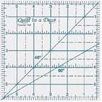 Quilting Rulers & Templates | Quilt in a Day & 6 Inch Square Up Ruler by Quilt in a Day Adamdwight.com
