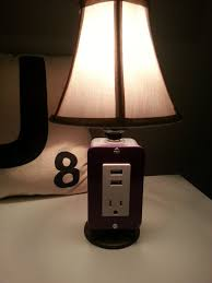 bedside lamp with usb port portable