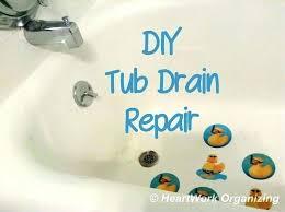 bathtub drain stopper removal remove bathtub stopper