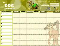 Dog Training Chart Dog Responsibility Chart Free Printable Dog Care Chore