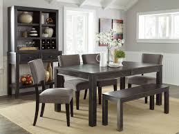modern kitchen table with bench. Decorating Ideas For A Buffet In Dining Room | Pottery Barn Furniture Modern Kitchen Table With Bench