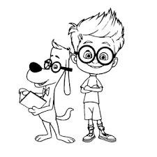 Leuk Voor Kids Mr Peabody En Sherman Kleurplaten