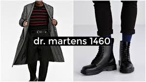 HOW TO STYLE DR. <b>MARTENS</b> 1460 | <b>Men's</b> Fashion | Lookbook ...