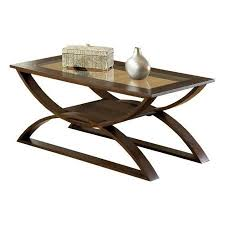 Buy Steve Silver Dylan Rectangle Cherry Wood Coffee Table With Glass Top In  Cheap Price On M.alibaba.com