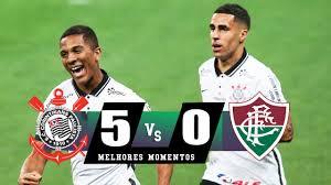 TIMÃO DEU SHOW NA NEO QUÍMICA ARENA! Corinthians 5 x 0 Fluminense (HD) Melhores  Momentos 13/01/2021 - YouTube