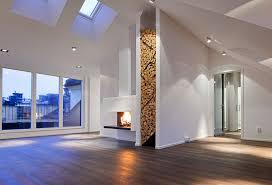 contemporary firewood storage idea 2 Contemporary Firewood Storage Idea