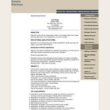 free quantity surveyor resume sample quantity surveyor resume quantity surveyor resume