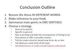 Concluding Paragraph Cover Letter Conclusion Paragraph Of A Thesis