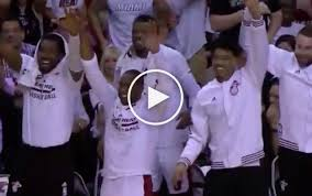 Ron Artest Dives Into The Miami Heat Bench  YouTubeHeat Bench