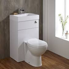 modern toilet and basin unit for small bathrooms