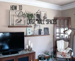 big wall decor ideas living room decorating ideas that anyone can
