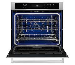 30 single wall oven even heat 8482 true convection features