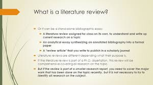 ir research methods literature review what is a literature  what is a literature review