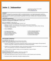 Resume Title Examples For Entry Level - Examples of Resumes