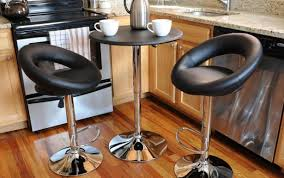 rattan round pub behind white kitchen tall chairs c dining height furniturebar space stools stoolsmetal couch
