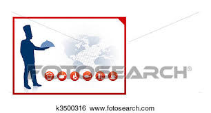 chef border clip art. Fine Border Clip Art  Chef On World Background With Red Border Fotosearch Search  Clipart And Chef Border N