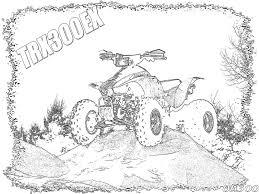 Quad Dessin Dessins Coloriage Moto Cross Imprimer Voir Le Dessin