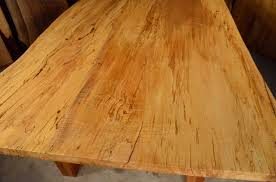 maple wood dining room table. reclaimed old wood dining room table \u2013 spalted curly maple