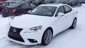 lexus 2014 white. Brilliant White 2014 Lexus IS 250 AWD White On Parchment Luxury Package Review In A