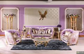Luxury Living Room Furniture 3pc Italian European Antique Hand Carving Luxury Living Room Sofa