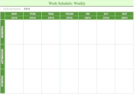 Week Planner With Times Weekly Calendar Template With Times