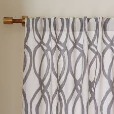 Gray and beige curtains Remodel Alternate Image Alternate Image West Elm Cotton Canvas Scribble Lattice Curtains set Of 2 Feather Gray