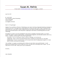 Gallery Of Cover Letter Examples For Senior Marketing Manager