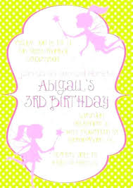 Invitation Cards Size In Inches Free Online Fairy Birthday