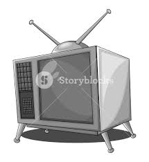 retro tv screen. old retro tv screen
