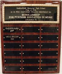 thank you note scholarship class of 1956 music scholarship recipient
