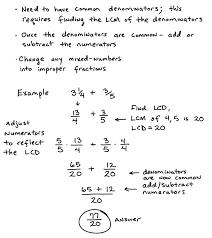 Fractions Adding Subtracting Multiplying Dividing Worksheets Math ...