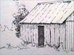 barn drawing. barn drawing