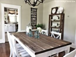 Amazing Modern Rustic Kitchen Table 7 Boston With Best Wood Tables