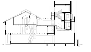 architecture buildings drawings. Buildings Design And Section Architecture Drawings