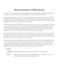 Objective Statement In Resume Opening Statement Resume Examples For Essays Staffing Position Essay