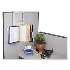 office cubicle accessories shelf. 10-Pocket Partition Reference Organizer Office Cubicle Accessories Shelf