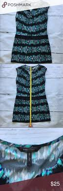 Bcbg Maxazria Multi Color Print Tunic Dress Size L Bcbg Maxazria