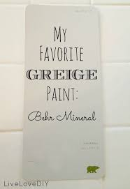 Its My New Favorite Greige Paint...the Perfect Blend Of Beige And Gray.