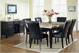 excellently elegant black dining sets with 6 chairs 23 table and chair set 5 fascinating shape