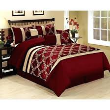 gold king duvet cover w8313 gold king size comforter sets 7 piece burdy gold lattice leaves