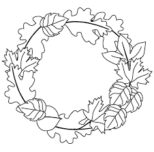 Small Picture Fall Leaves Coloring Pages FunyColoring